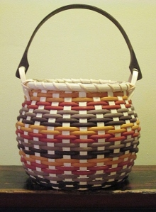 Round Swing Handle Basket